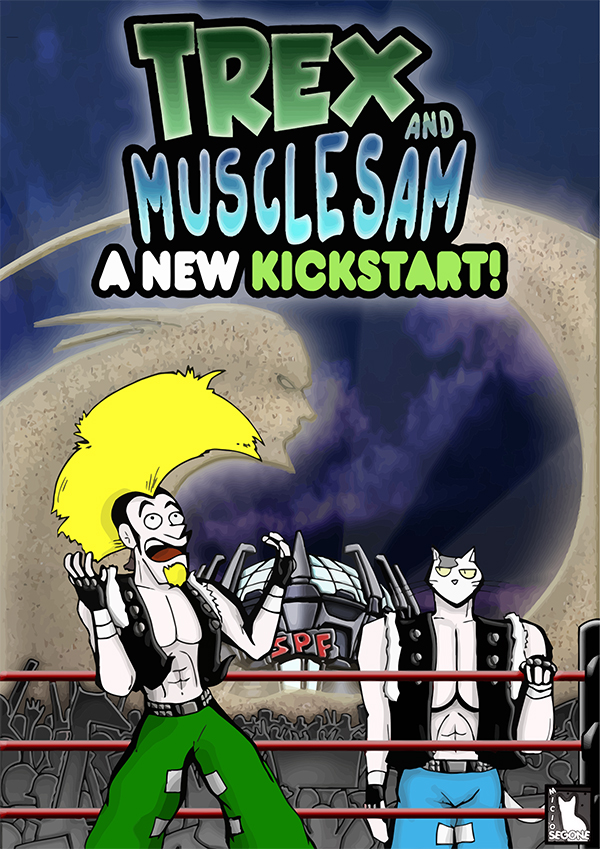TREX AND MUSCLE SAM A NEW KICKSTART COVER