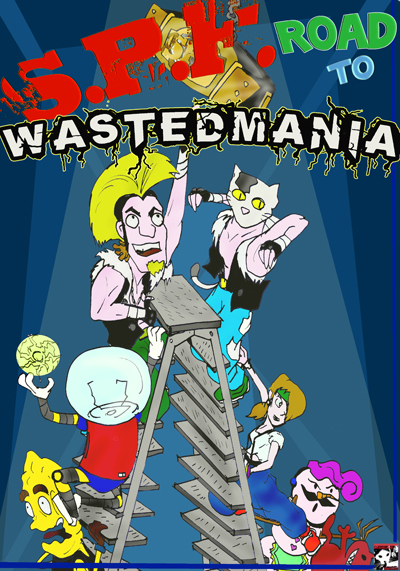 SPF ROAD TO WASTEDMANIA COVER